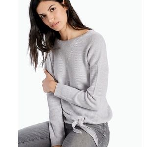 """Lucky Brand """"The Tie Front"""" sweater"""